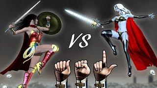 Wonder Woman vs Lady Death