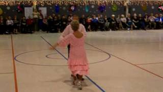 All Fall Down Bolero Round Dance presented & choreographed by Adrienne & Larry Nelson