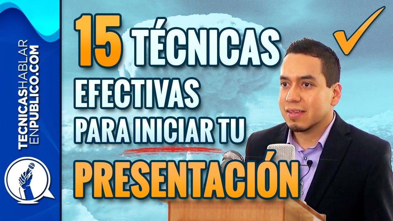 Como Hacer Un Discurso 15 Técnicas Efectivas Para Iniciar Tu Presentación Tecnicas De Oratoria