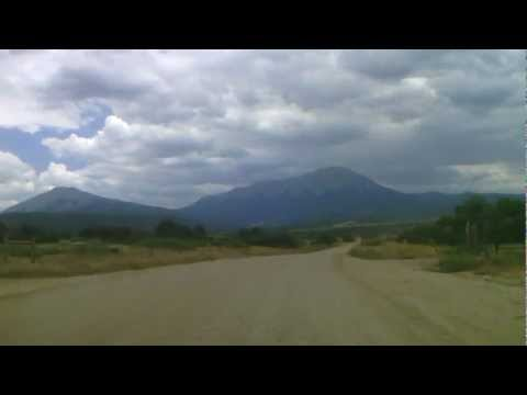 Driving from La Veta to Lover's Leap