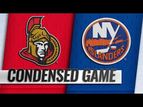 03/05/19 Condensed Game: Senators @ Islanders