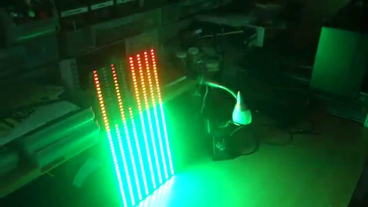 VU Meter w/ Microphone Input – LEDSEQ