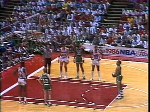 1986 NBA Finals Celtics vs. Rockets (At Houston) Game 4 PART 1 GOOD AUDIO