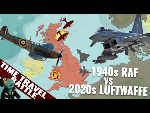 Could The Modern Luftwaffe Win The WWII Battle Of Britain?