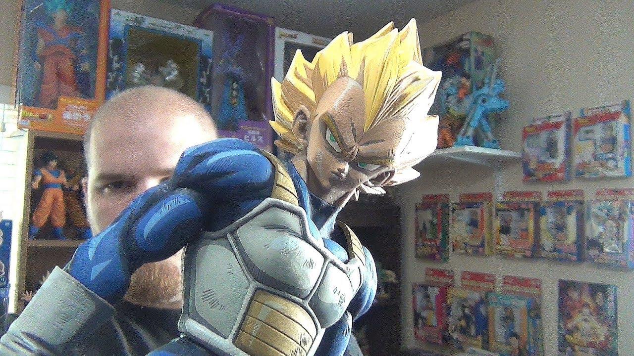 DragonBall Z Master Stars Piece The Vegeta Manga Dimensions Figure In Box New