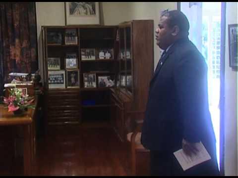 Fijian President H.E. Ratu Epeli Nailatikau, Non-Resident Ambassador of Hungary presents Credentials