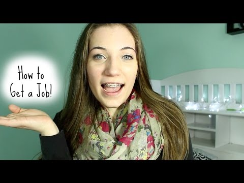 How to Get a Job as a Teenager! - YouTube