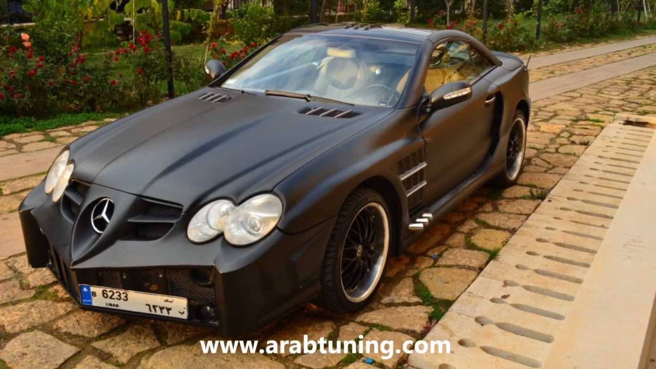 mercedes sl amg the batmobile youtube