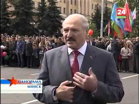 Александр Лукашенко  День Победы 9 Мая 2014   2
