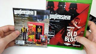 Wolfenstein: BUNDLE PACK - Unboxing | Xbox One