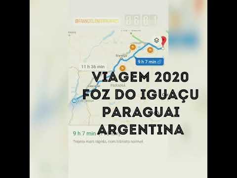 Viagem de Moto🇧🇷🇵🇾🇦🇷 Foz do Iguaçu 🇧🇷 Paraguai 🇵🇾 e Argentina 🇦🇷