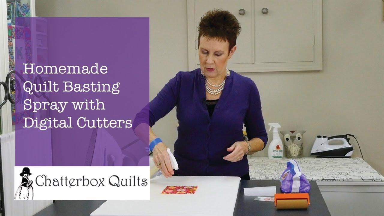 how to make homemade basting spray