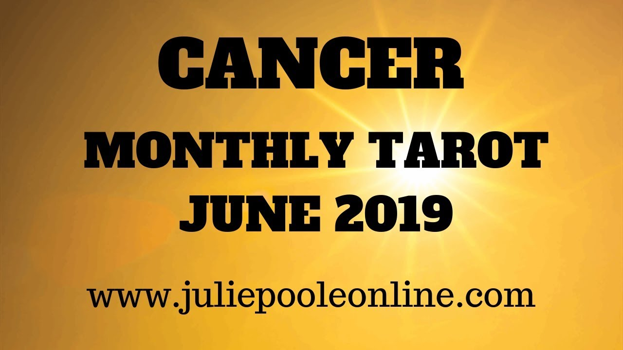 cancer monthly tarot