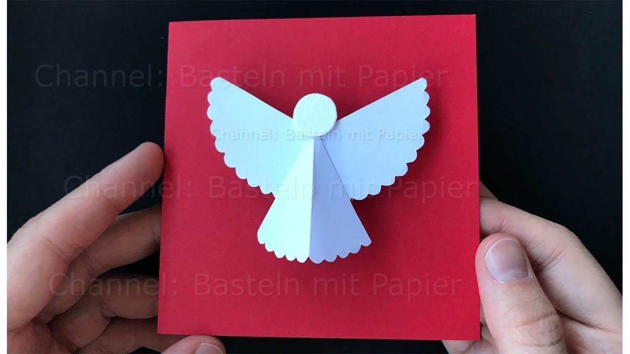 weihnachtskarten basteln mit engel weihnachtsgeschenke. Black Bedroom Furniture Sets. Home Design Ideas