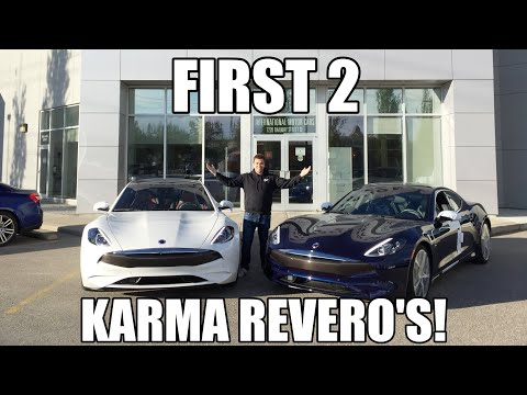TAKING DELIVERY OF 2 KARMA REVERO'S!