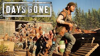Days Gone (PS4) - E3 2016 Gameplay Demo @ 1080p HD ✔