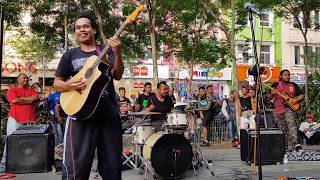 penunggu-Sentuhan buskers feat gitaris sweet charity rosli muhalim,bunyi puaka dari gitar