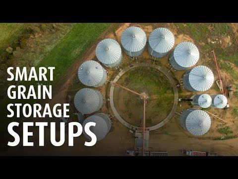 RESEARCH REPORT: Smart grain storage setups