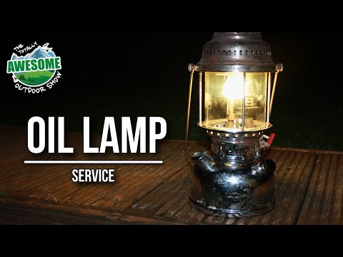 How to service an oil lamp | TA Outdoors