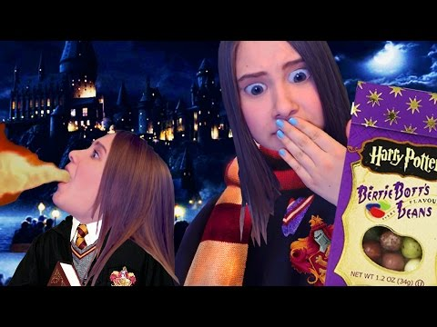 Волшебные бобы Гарри Поттера! Bertie Botts Beans Challenge