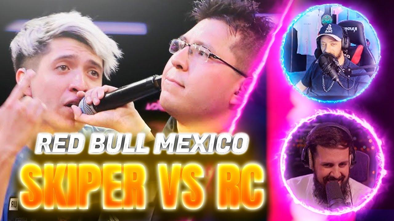 DTOKE Y PAPO REACCIONAN A RC vs SKIPER - Final | Red Bull México 2021🏆