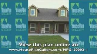 Traditional House Plan - Hpg-20002-1- The Forrest Wood By House Plan Gallery