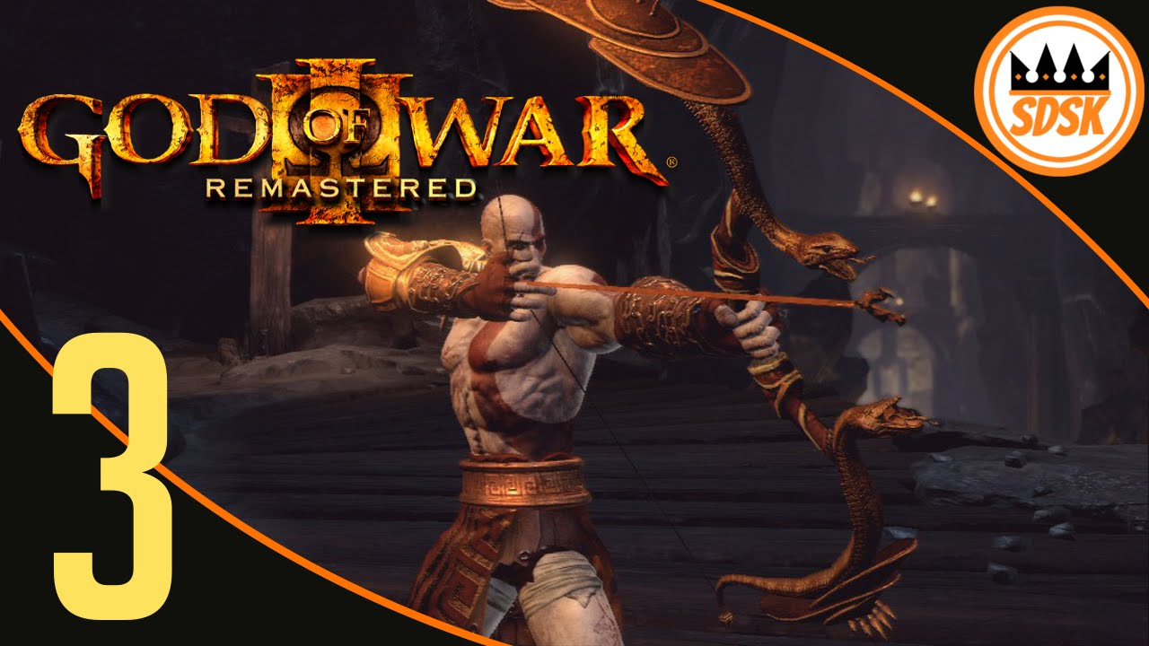 god of war 3 remastered walkthrough bow of apollo
