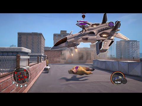 Saints Row The Third Remastered but it's broken |