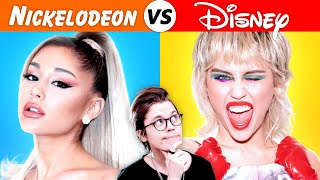 Disney Singers vs Nickelodeon Singers