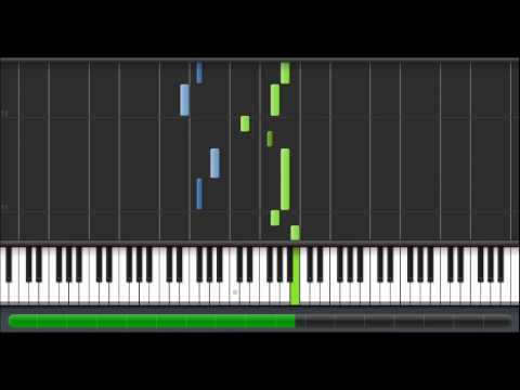 (How to Play) Johannes Brahms - Brahms's Lullaby (Cradle Song) on Piano (100%)