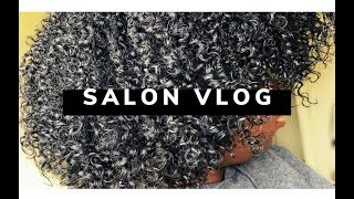 BEST Wash n Go EVER 😱: Salon Vlog