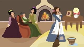 Cinderella - English stories for kids. English books for kids.