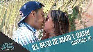 ¡El beso de Mari y Dash! | Los Perlas