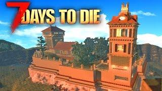 7 Days To Die Mods: THE GREATEST BASE IDEA!!| (7 Days To Die Gameplay) 24 Hour Stream Part 5