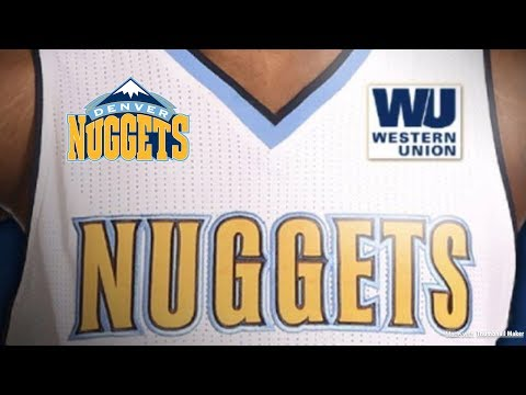 The Denver Nuggets announce jersey sponsorship with Western Union