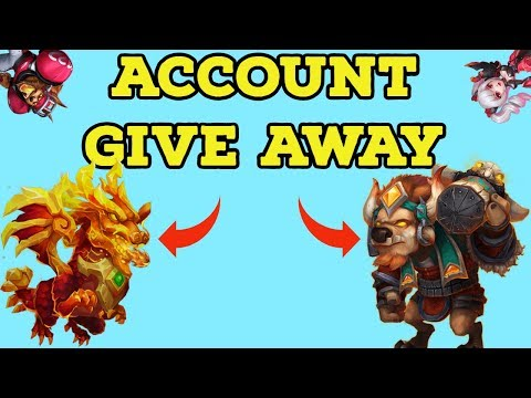 ACCOUNT GIVE AWAY ANNOUNCEMENT CASTLE CLASH. P2P