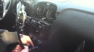 Removing the waterfall (stereo trim panel) 2010 hhr/cobalt