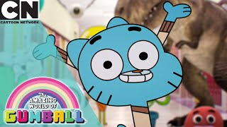 The Amazing World of Gumball | Darwin and Gumball Become Filmmakers | Cartoon Network UK
