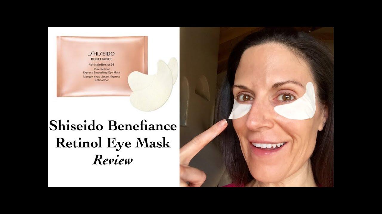 shiseido eye mask