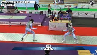 2018 127 F F Individual Katowice POL WC T16 06 RED HONG KOR vs WALCZYK POL