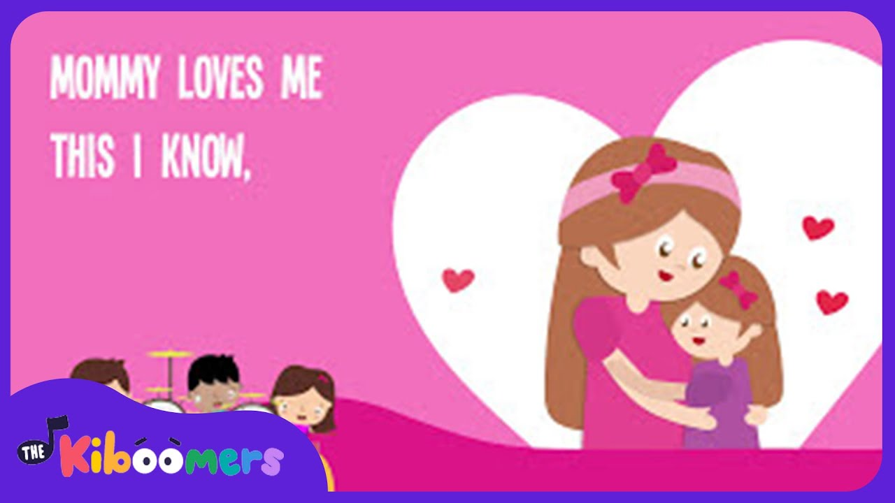 inappropriate love mother kids Mommy Loves Me Song for Children | Mother's Day Song Lyrics for Kids
