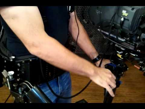 Cable run for live Steadicam Triax Jobs