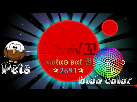 Nebulous 1 8.6 - Choose your blob color! New Skins, Pets and Game mode (MEGABLOB)
