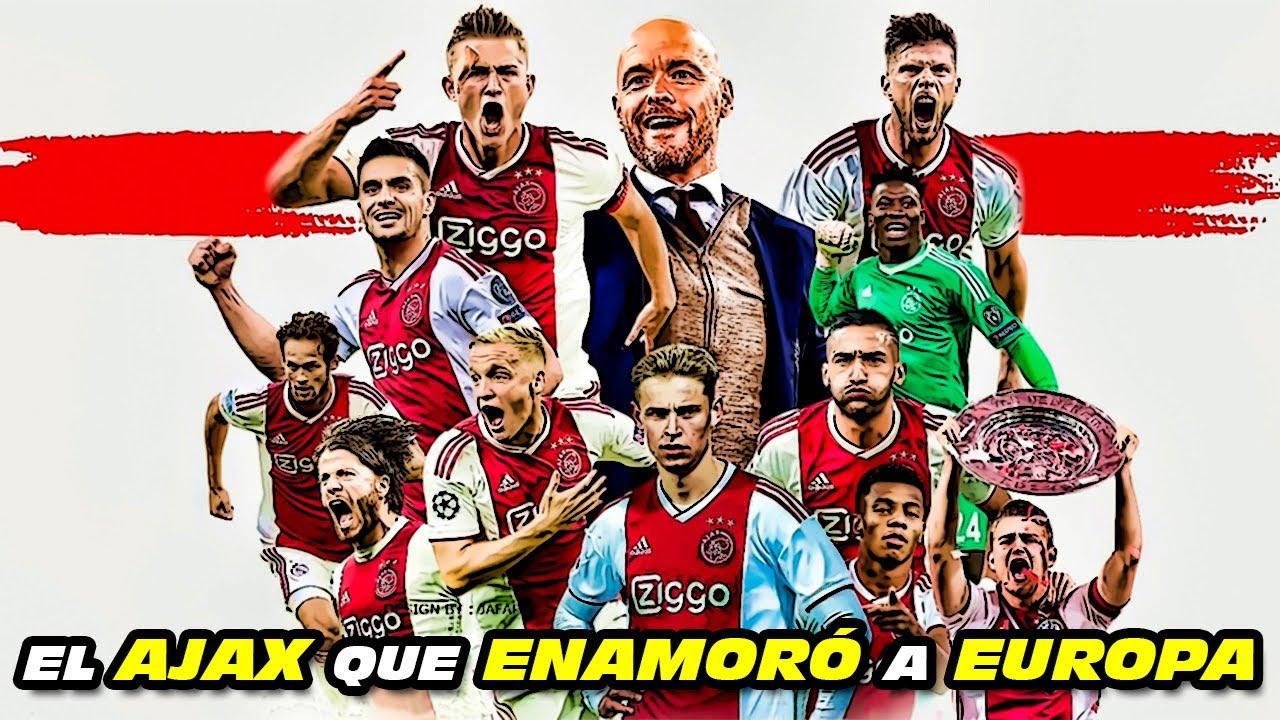 El AJAX que ENAMORÓ ❤️ a EUROPA (2018/19 Campeón Eredivisie, Copa y Semifinalista Champions League)