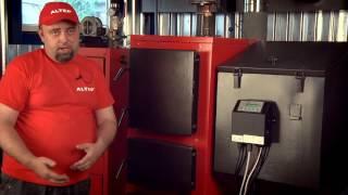 Налаштування блоку управління пелетного котла Альтеп КТ-2ESH