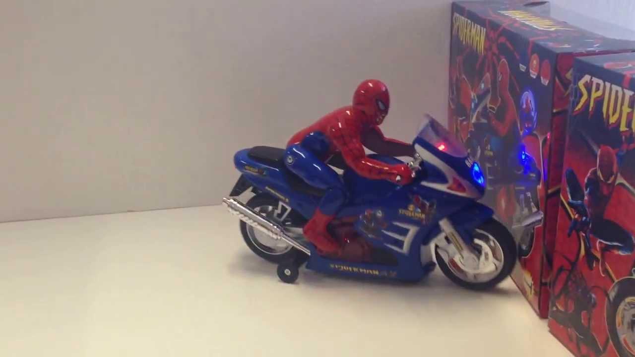Spiderman motorcycle youtube - Spider man moto ...