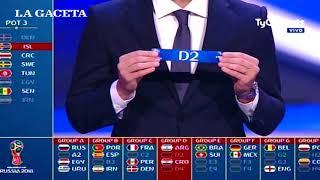Mundial 2018: con quién, cuándo y a qué hora jugará Argentina