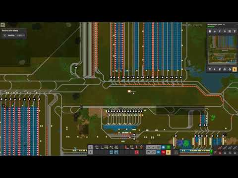 Factorio Base Tour - Faulkner's 10k SPM, 13,000 Hour Factory with HUGE Trains