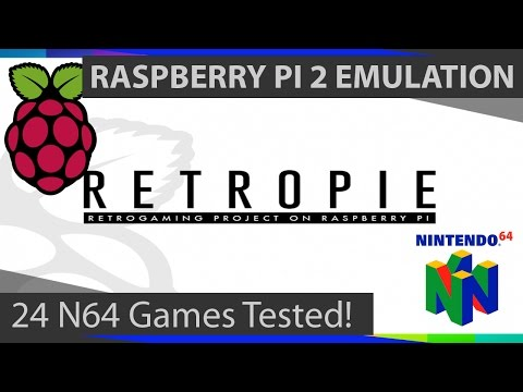 Raspberry Pi 2 Nintendo 64 Emulation: 25 N64 Games Tested