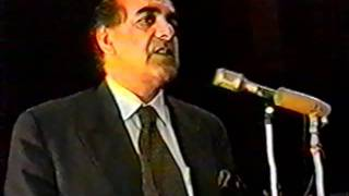 A.R. Ghafoorzai, Foreign Minister of Afghanistan, Balkh University June 1997 part 3.